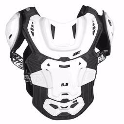 Plastron cross Leatt 5.5 pro white,Plastrons Motocross