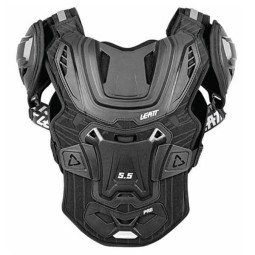 Plastron cross Leatt 5.5 pro black