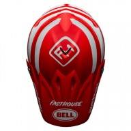 Casque motocross Bell Moto 9 Mips Fasthouse Signia red