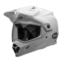 Casco moto enduro Bell Helmets MX-9 Adventure Mips White