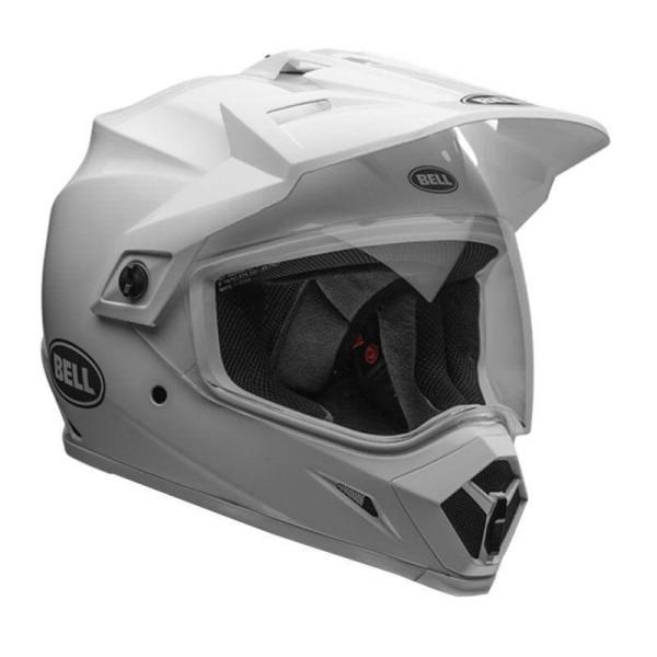 Casco enduro Bell Helmets MX-9 Adventure Mips white