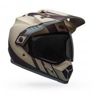 Enduro helmet Bell Helmets MX-9 Adventure Mips Dash Sand