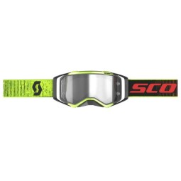 Motocross-Brille Scott Prospect LS Schwarz Gelb