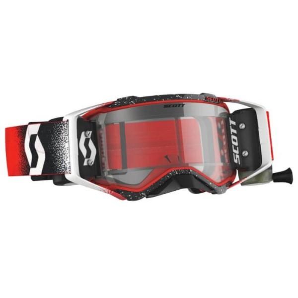 Gafas de Motocross Scott Prospect WFS Blanco Rojo