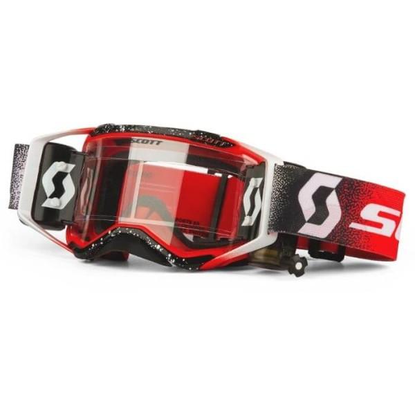 Motocross-Brille Scott Prospect WFS Weiss Rot