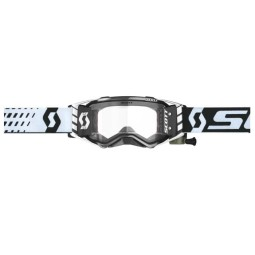 Occhiali Motocross Scott Prospect WFS Nero Bianco