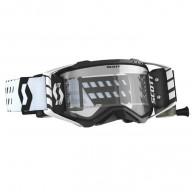 Lunettes Motocross Scott Prospect WFS Noir Blanc