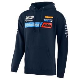 Sudadera KTM Troy Lee Design Team azul\n,Sudaderas