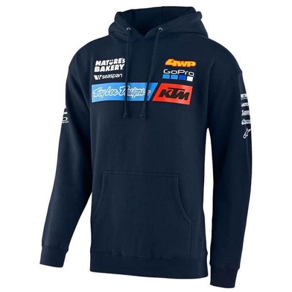 Sweatshirt KTM Troy Lee Design Team blau
