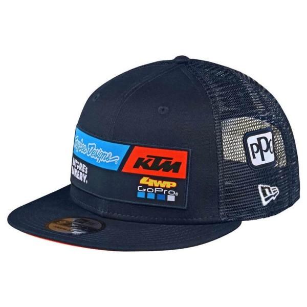 Casquette KTM Troy Lee Design Team Snapback bleu