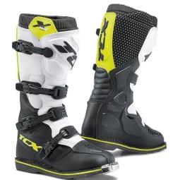 Stivali Motocross TCX X-Blast nero giallo fluo,Stivali Motocross