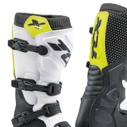 Motocross Boots TCX X-Blast Black Yellow,Motocross Boots