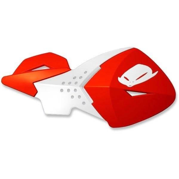Protège-mains universels Ufo Plast Escalade rouge