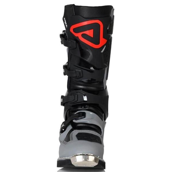 Motocross stiefel Acerbis X-Rock black grau