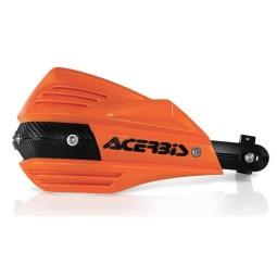 Paramani Acerbis X-Factor orange,Adesivi e Plastiche