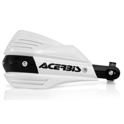 Handguards Acerbis X-Factor white,Graphics and Plastics