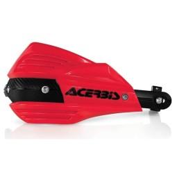 Paramani Acerbis X-Factor rosso,Adesivi e Plastiche