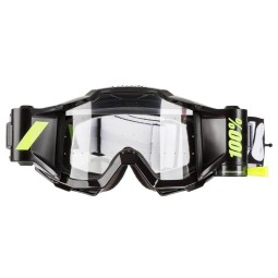 Motocross goggles 100% Accuri Forecast Tornado black,Motocross Goggles
