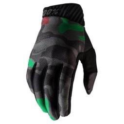 Motocross Gloves 100% RIDEFIT camouflage,Motocross Gloves
