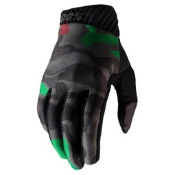 Motocross-Handschuhe 100% RIDEFIT camouflage