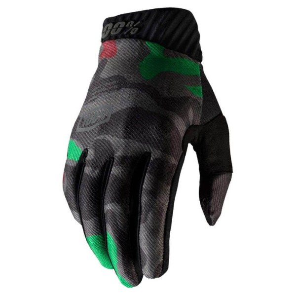 Guantes Motocross 100% RIDEFIT camouflage