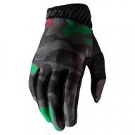 Gants Motocross 100% RIDEFIT camouflage