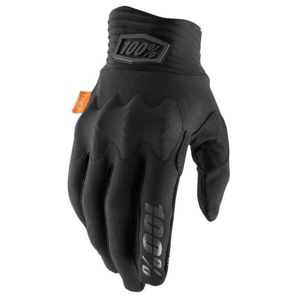 Gants motocross 100% Cognito noir