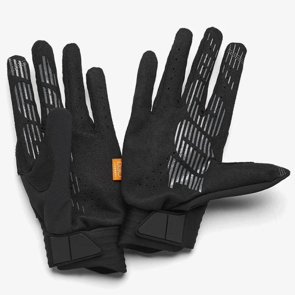 Motocross gloves 100% Cognito black
