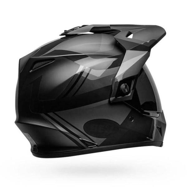 Casco enduro Bell Helmets MX-9 Adventure Mips Blackout negro