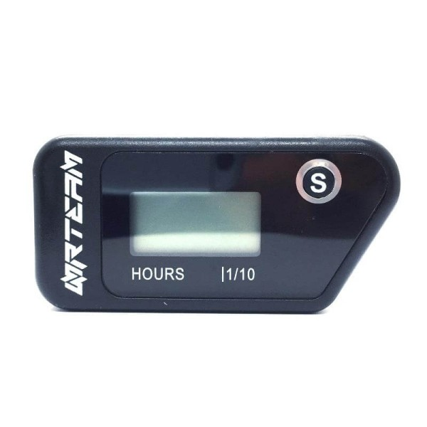 Contador horas Nrteam wireless negro
