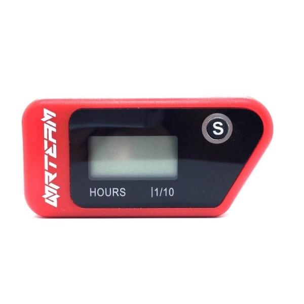Contador horas Nrteam wireless rojo