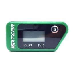 Contador horas Nrteam wireless verde