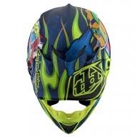 Motocross helmet Troy Lee Design SE4 Composite Eyeball navy