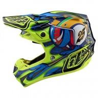 Casco motocross Troy Lee Design SE4 Composite Eyeball navy