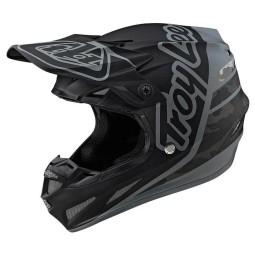 Motocross helmet Troy Lee Design SE4 Composite Silhouette black ,Motocross Helmets