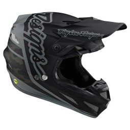 Casco motocross Troy Lee Design SE4 Composite Silhouette black ,Cascos Motocross