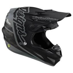 Casque cross Troy Lee Design SE4 Composite Silhouette black ,Casques Motocross