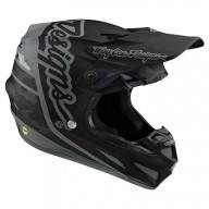 Casco motocross Troy Lee Design SE4 Composite Silhouette black