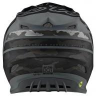 Casque cross Troy Lee Design SE4 Composite Silhouette black