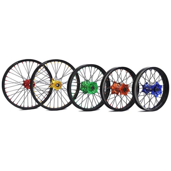 Complete front wheel Nrteam 21X1.60 blue