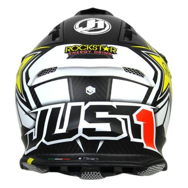 Casco de cross Just1 J12 Rockstar Energy 2.0