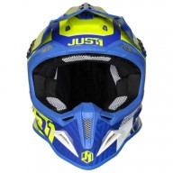 Casco de cross Just1 J12 Syncro yellow blue