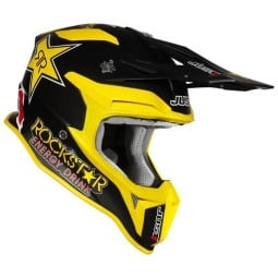 Casco cross Just1 J18\nRockstar Energy