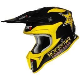 Casco cross Just1 J18\nRockstar Energy,Caschi Motocross
