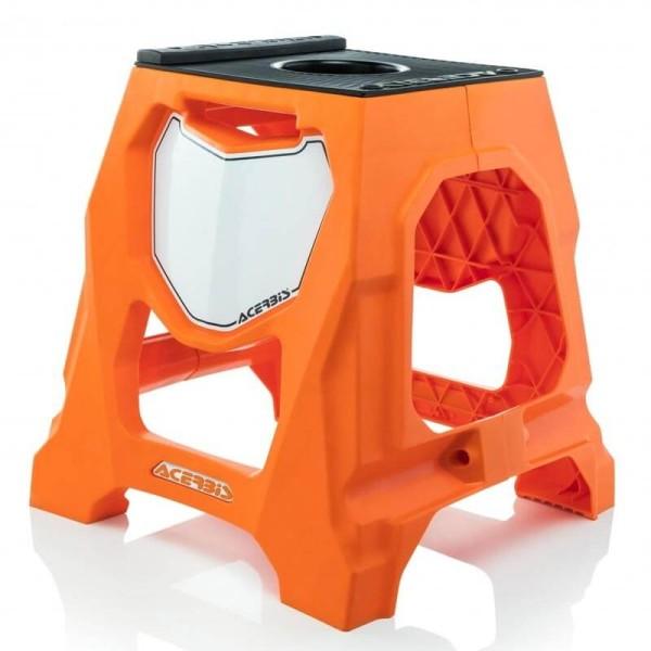Bequille Motocross Acerbis Orange