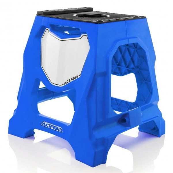 Caballete Motocross Acerbis Blue
