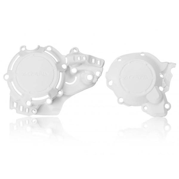 Kit X-power protection Acerbis white