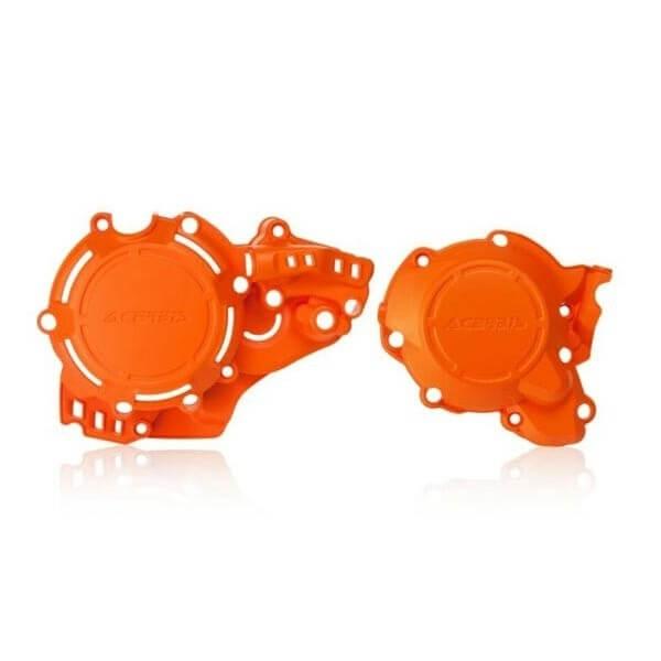Protection pour moteur X-power Acerbis orange MY 2020