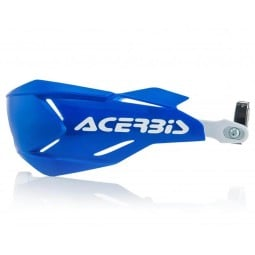 Paramani Acerbis X-Factory blu,Adesivi e Plastiche