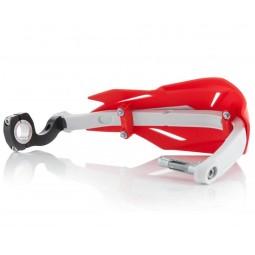 Paramani Acerbis X-Factory rosso,Adesivi e Plastiche